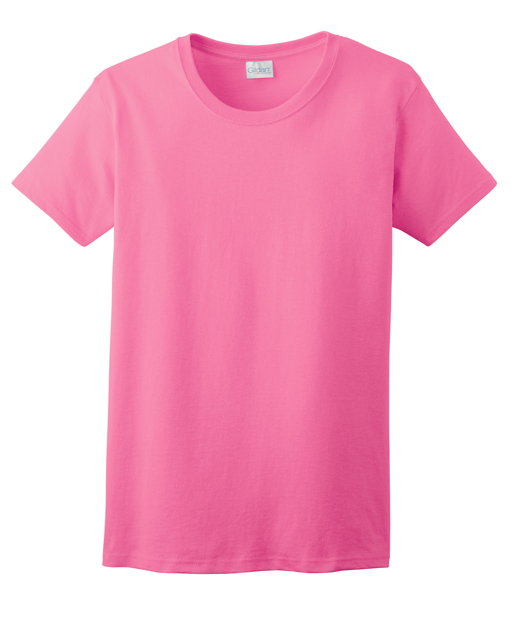 2000L Ladies/' Ultra Cotton™  100/% cotton T-Shirt Gildan