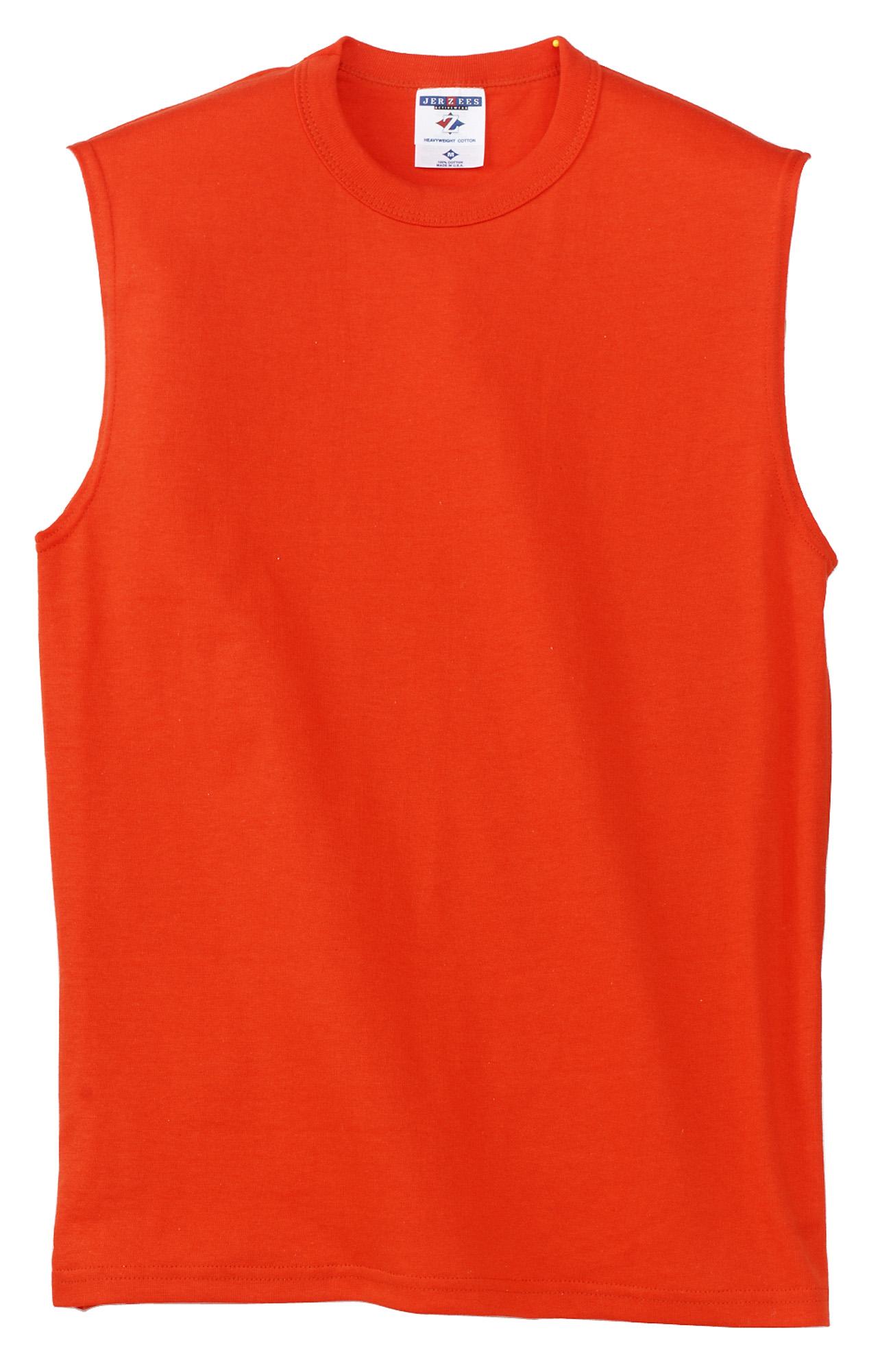 JERZEES® – HiDensi-T™ 100% Cotton Sleeveless T-Shirt. 49M ...