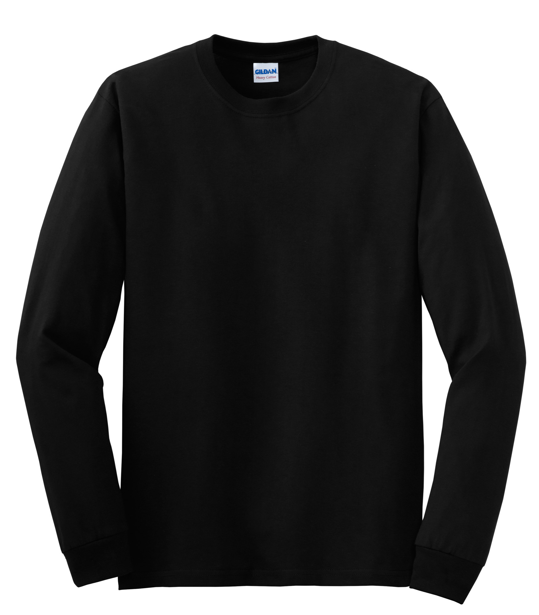 Gildan – Heavy Cotton 100% Cotton Long Sleeve T-Shirt. 5400 ...