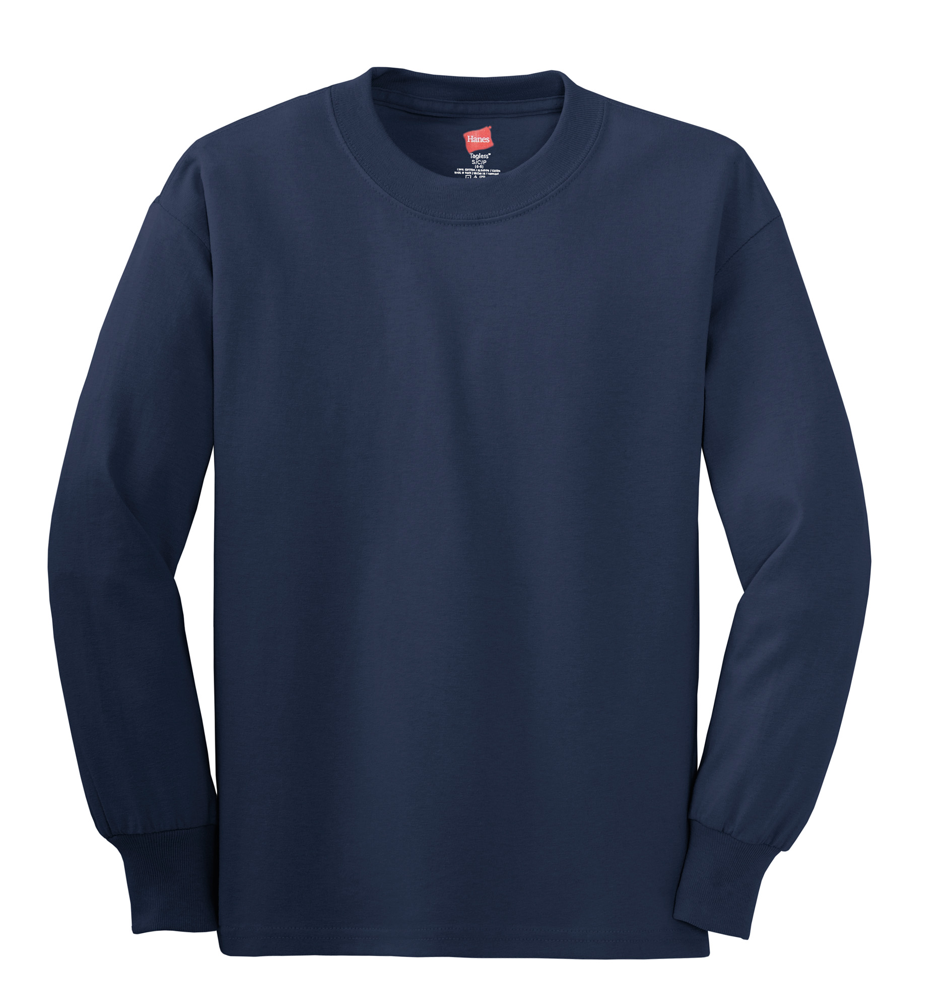 Light steel hanes tagless 100 cotton long sleeve t shirt for Mens 100 cotton long sleeve t shirts