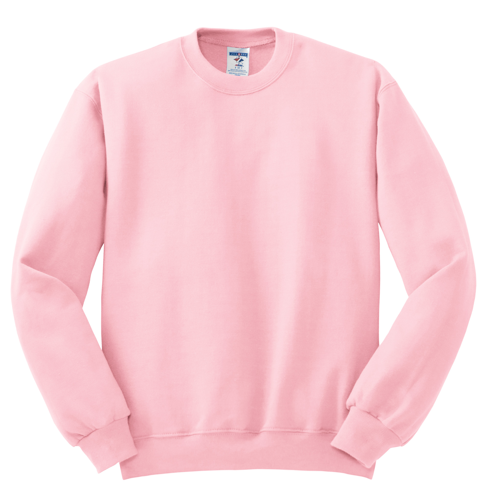 Pink Crew Neck Sweatshirt | Fashion Ql